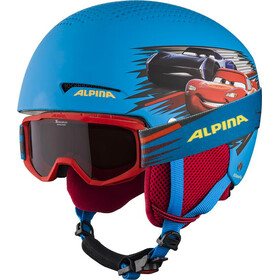 Alpina Zupo Disney Set Ski Helmet Kids, cars